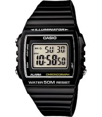 reloj casio digital w-215h-1a negro