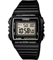 reloj casio digital w-215h-1a negro