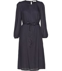 mistie dress jurk knielengte blauw lexington clothing
