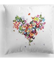 poduszka butterfly heart