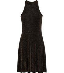abito in lurex con scollo all''americana (oro) - bodyflirt