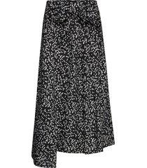 hanneiw ilsa skirt knälång kjol svart inwear