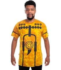 camiseta especial naruto bijuu mode incolor
