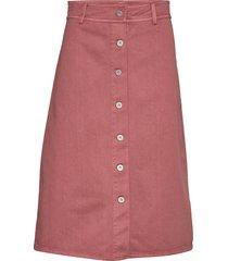 slaisley skirt knälång kjol rosa soaked in luxury