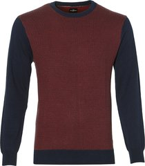 sale - jac hensen pullover - extra lang - rood