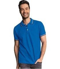 masculino exterior camiseta azul leonisa m2654s