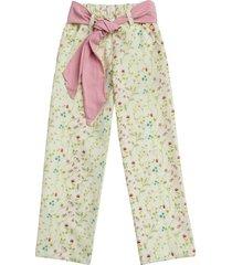 pantalon flores estilo rosa cami