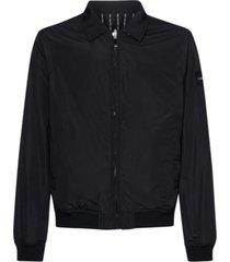 chaqueta reversible bomber negro calvin klein