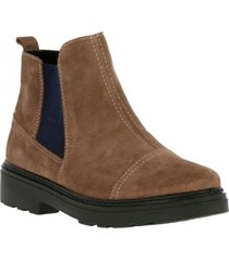 botin suede gale café hush puppies