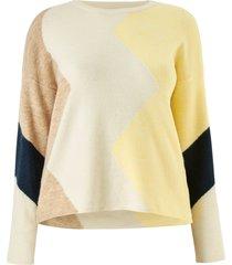 tröja vmrana ls new block blouse curve
