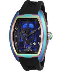 reloj invicta negro modelo 269kc para hombres, colección star wars