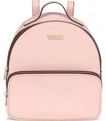 mochila essential rosado tous