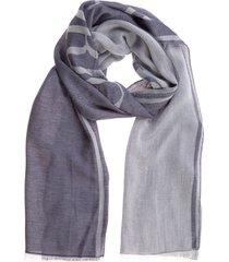 emporio armani trifolio scarf