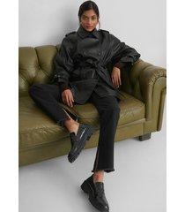 mango claudia jacket - black