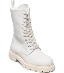 krisha laced boot shoes boots ankle boots ankle boot - flat vit filippa k
