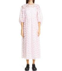 women's cecilie bahnsen karmen midi dress