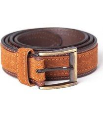 cinturón marrón equus stamp
