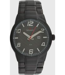 relógio technos 2117lby/4c preto