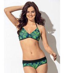 swimwear bikini verde leonisa 201359n