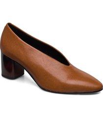 eve shoes heels pumps classic brun vagabond