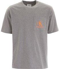 calvin klein t-shirt with chest pocket
