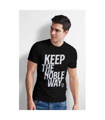 camiseta base nobre keep t- shirt masculina