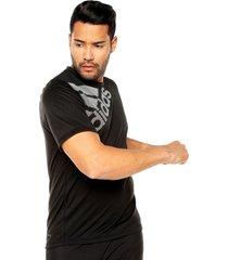 camiseta negra adidas performance fl_spr gf bos