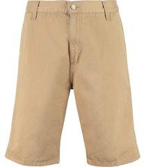 carhartt ruck single knee cotton bermuda shorts