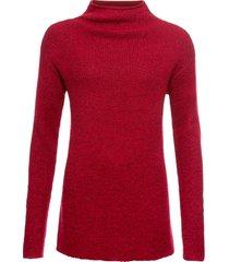 maglione con lurex (rosso) - bodyflirt