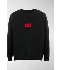 424 embroidered logo cotton sweatshirt