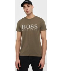 boss t-shirt rn t-shirts & linnen dark brown