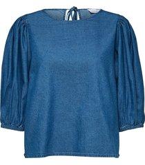 clarisa puff sleeve blouse