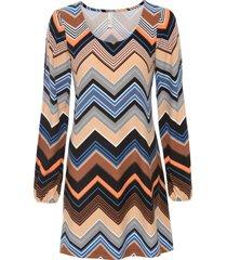 abito di jersey (marrone) - bodyflirt boutique