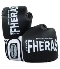 luva boxe muay thai fheras new orion pró pr/br 14 oz .