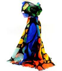 pashmina multicolor leblu lunares