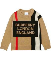 burberry wool sweater with logo