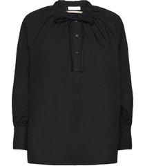 2nd roland thinktwice blouse lange mouwen zwart 2ndday