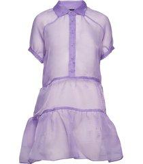 2nd jamboree korte jurk paars 2ndday