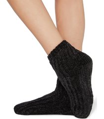 calzedonia - soft non-slip socks, one size, black, women