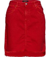 skirt kort kjol röd replay