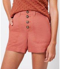 loft casual utility shorts