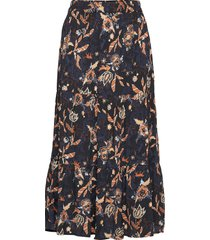 birla skirt knälång kjol multi/mönstrad minus