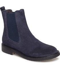 boots stövletter chelsea boot blå carla f