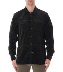 oliver spencer grove jacket - black osmj313