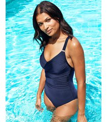 icon varadero non wired wrap shaping one-piece swimsuit