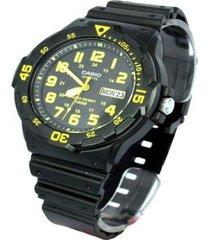 reloj casio mrw_200h_9bv negro resina