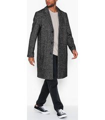topman herringbone coat jackor print