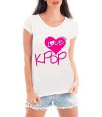 blusa criativa urbana love kpop blusa t shirt musicas
