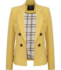 blazer io  amarillo- calce regular