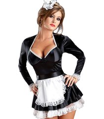adult ladies sexy naughty french maid costume fancy dress party cosplay uniform